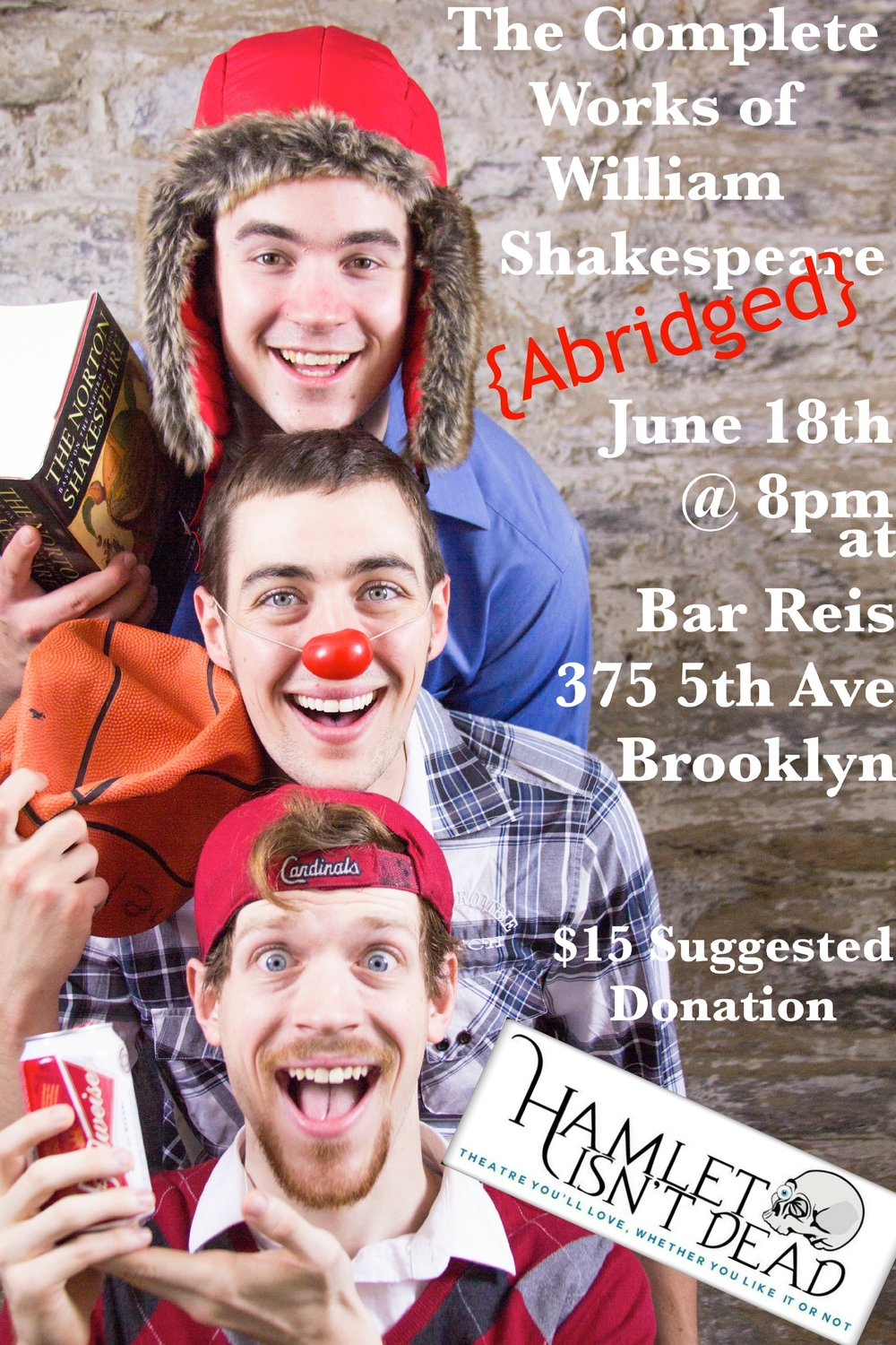 Promo for The Complete Works of William Shakespeare (Abridged) - 2014