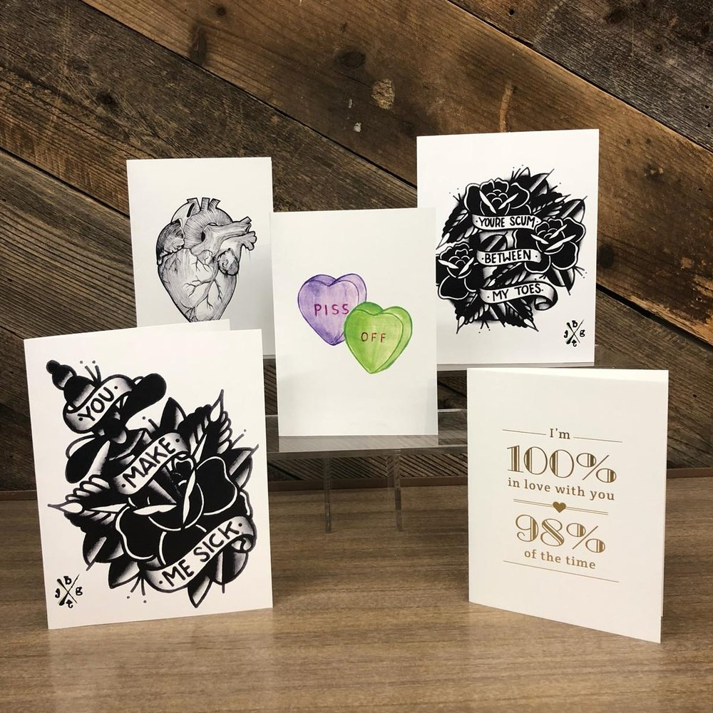 Greeting Cards, $4.50 - $5.99