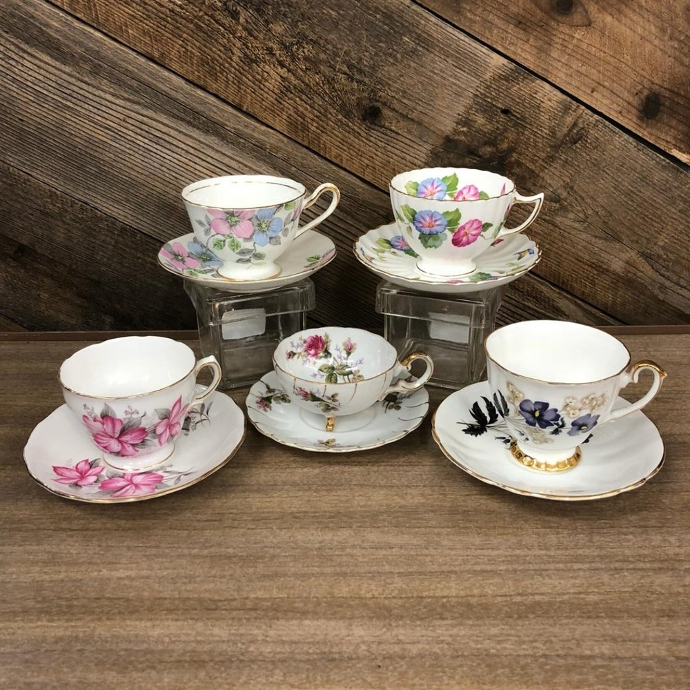 English China Teacups
