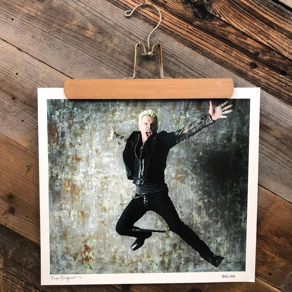 Billy Idol Photo Print