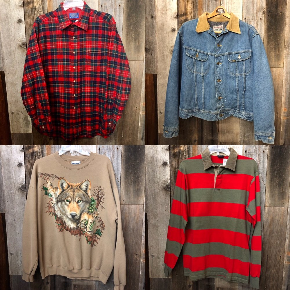 Mens Vintage Apparel