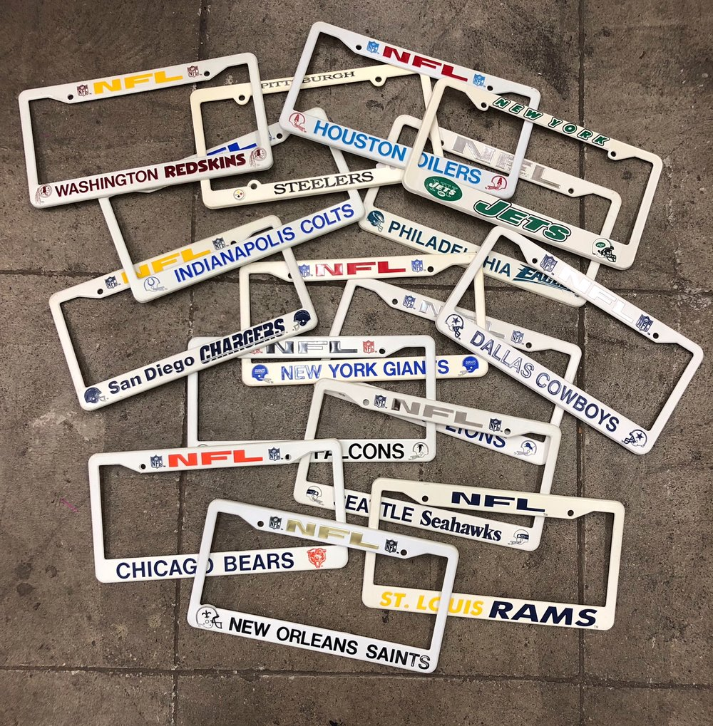 Sports License Plate Frames