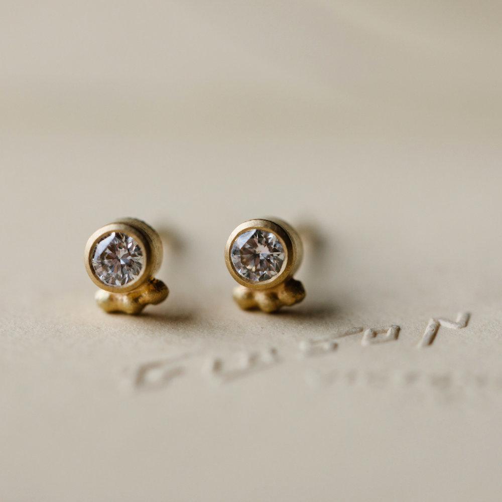 d10ab5c45 Tiny Dotty Diamond Studs — Alison Macleod Jewellery