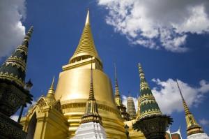 Wat Phra Kheo stupas