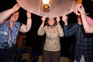 Launching lantern