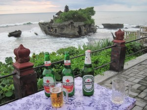 Tanah Lot - happy hour
