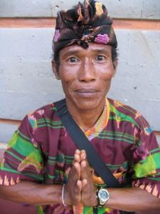 Ulu Watu - attendant