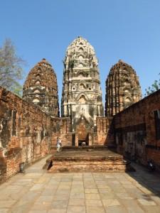 Khmer prangs - Sukhothai