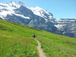 Hiking in the Berner Oberland