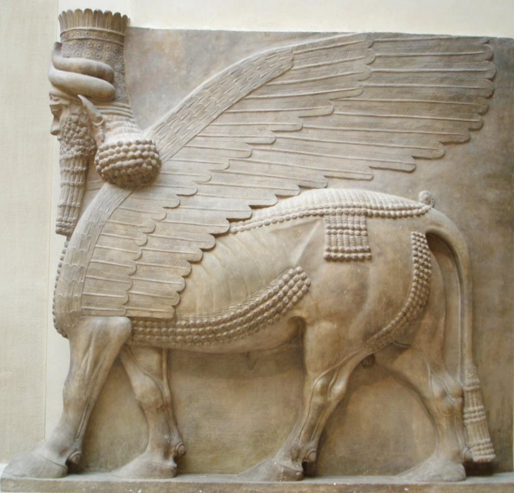 Winged Bull of Sargon II