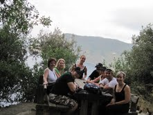 Cingue Terre hiking group