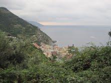 Cinque Terre trail view