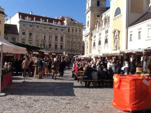 Wien autumn market