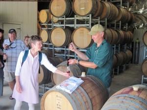 Otago wine tasting