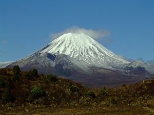 Mt Ngauruhoe in Tongariro National Park