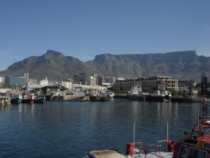 Capetown and Table Mountain