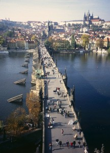 Prague's Charles V bridge