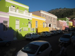Colorful Cape Malay architecture in Bo Kaap
