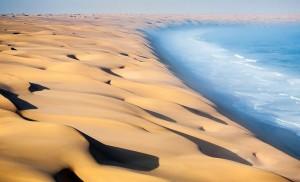 Namib dunes aerial