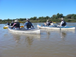 Orange River canoeing