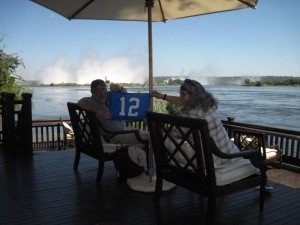 Bill & Judy on Zambezi River