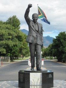 Drakenstein statue of Mandela