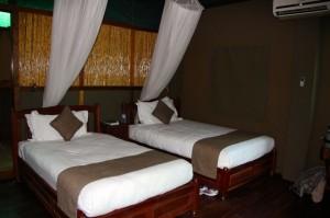 "Kwalape ""tent"" bedroom"