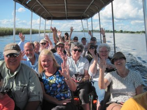 Imprint group on the Chobe River