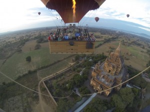 Imprint over Bagan