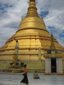 Main stupa at Bototaung Pagoda