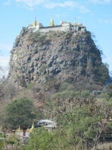 Mt Popa temples