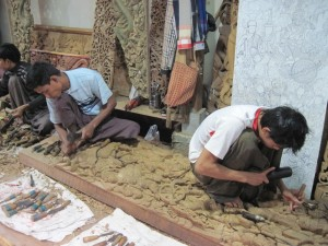 Mandalay wood carvers
