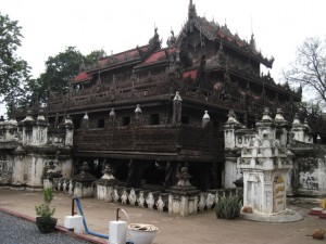 The wooden monestary