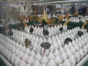 Model of the pagoda complex