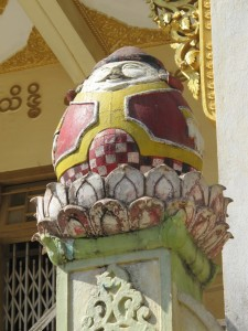 "Mt Popa ""egghead"" decoration (photo by Maia Coen)"