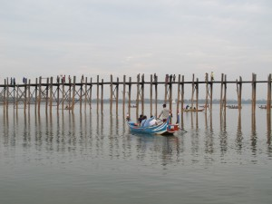 U Bein bridge (photo by Maia Coen)