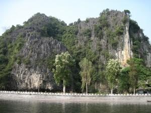Tam Coc karst scenery