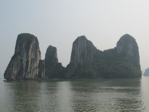 Halong karsts (photo by Maia Coen)