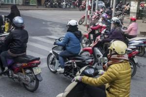 Hanoi motorcycles