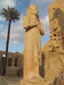 Karnak statue