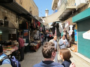 Walking through Old Jerusalem