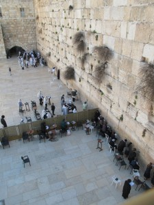 Western Wall - male/femail division