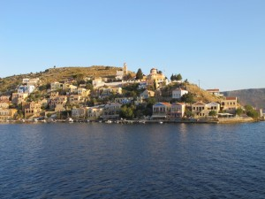 Symi Hora at first light