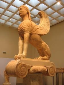 Delphic sphinx.