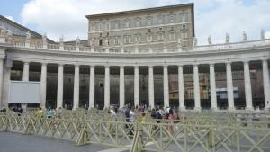 """perspective from the """"Centro del Colonnato"""" marker"""