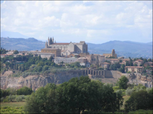 Le Velette view Orvieto