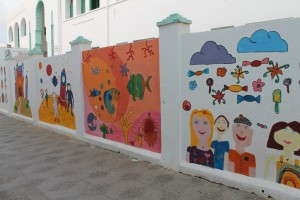 Muraled walls of Asilah