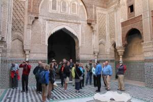 Visiting Fes madrasa
