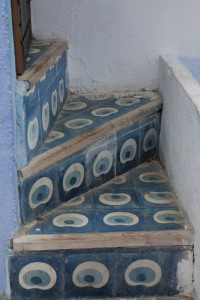 Chefchaouen steps