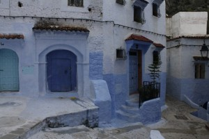 Chefchaouen buildings